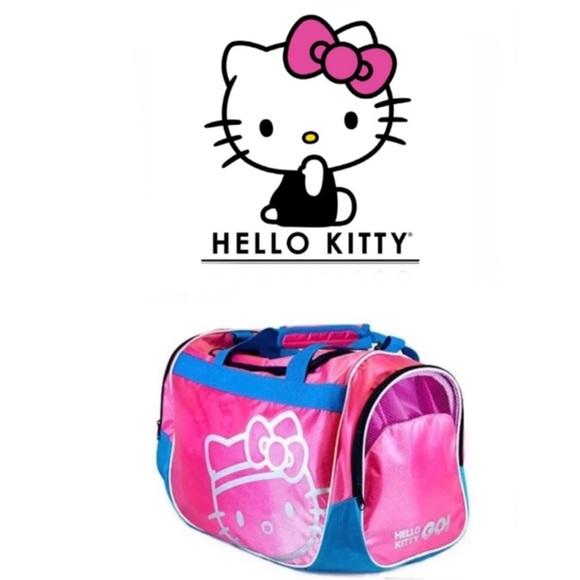 Hello Kitty Sports Duffle Bag🆕 1a2505d1ed6a2